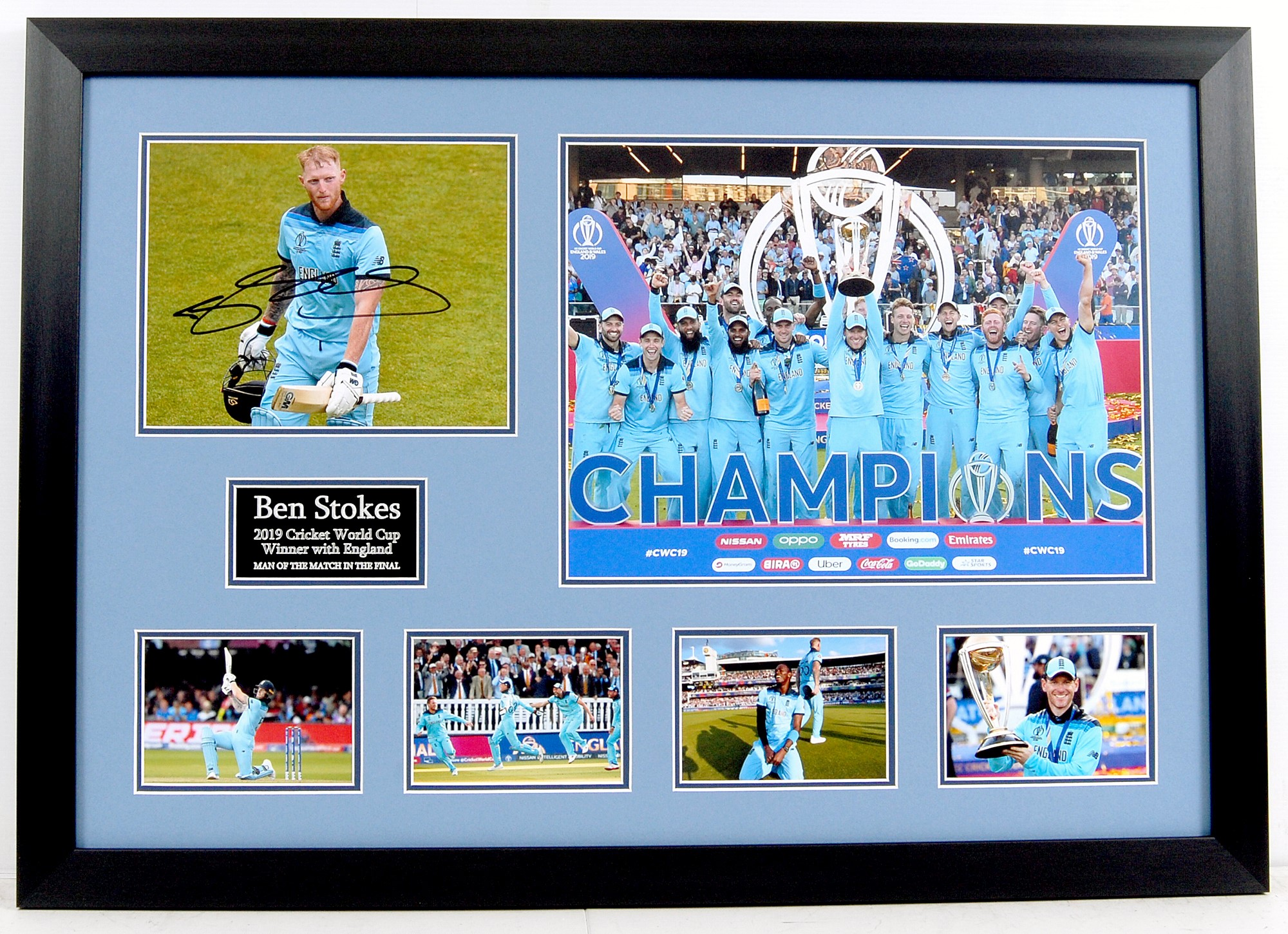 Ben Stokes Signed Display